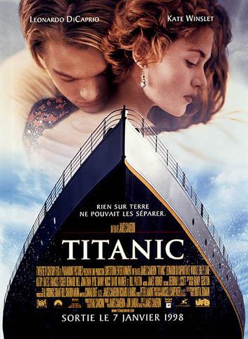 titanic dans films amour action titanic
